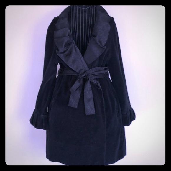Betsy Johnson velvet robe